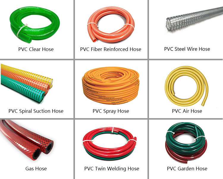 Transparent Braided Hose pvc Braided Hose Pipe High Tensile Strength Multi-function Pvc Air Hose