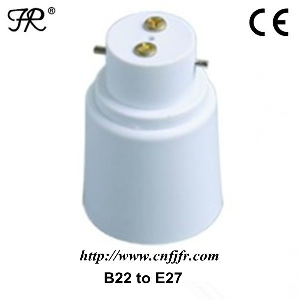 plastic B22 to E27 Light Bulb Adapter,lam pholder