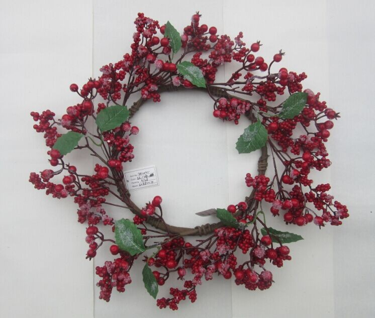 Natural Artificial Pine Cone Christmas Wreaths In Hot Sale