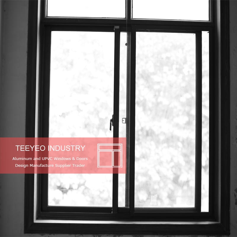 Bronze Aluminum Window Frame Malaysia Commercial Frames For Sliding Opening Type