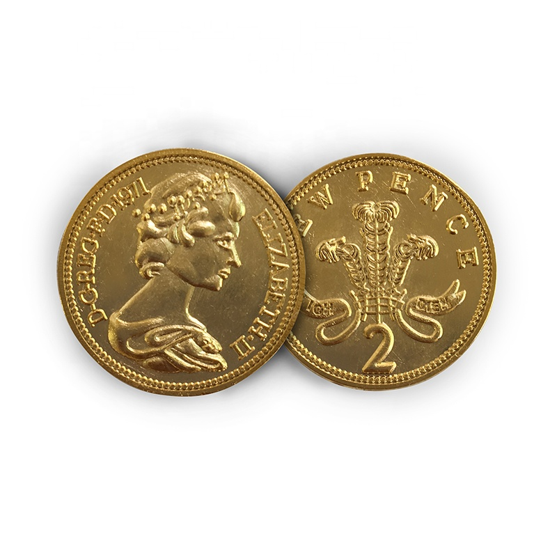 Queen Elizabeth Ii Gold Silver Coin