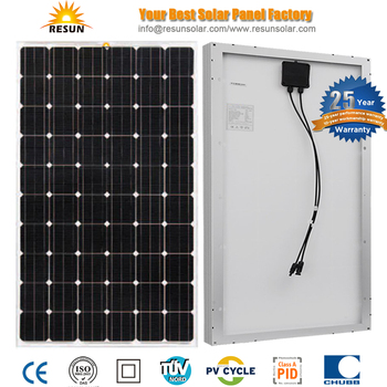 TUV Certificate PID free 250w mono solar panel 25 years warranty