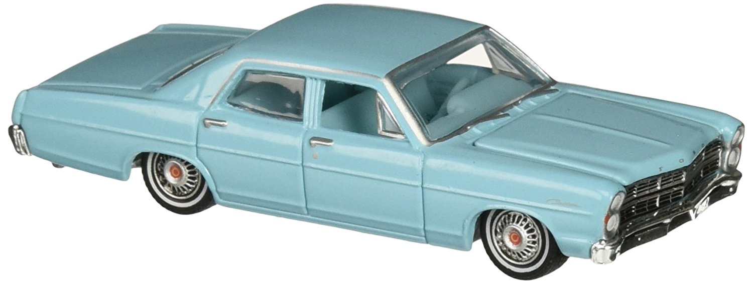 1967 FORD CUSTOM (Blue) * Country Roads Series 13 * Greenlight 1:64 Scale Limited Edition 2015 Die-Cast Vehicle