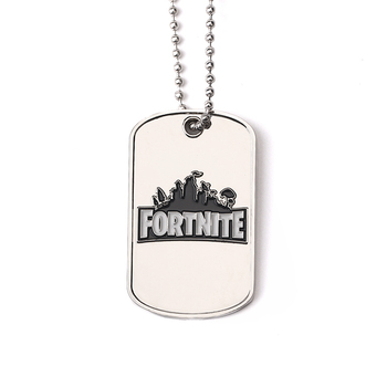 factory custom dog shaped army dog tag necklace
