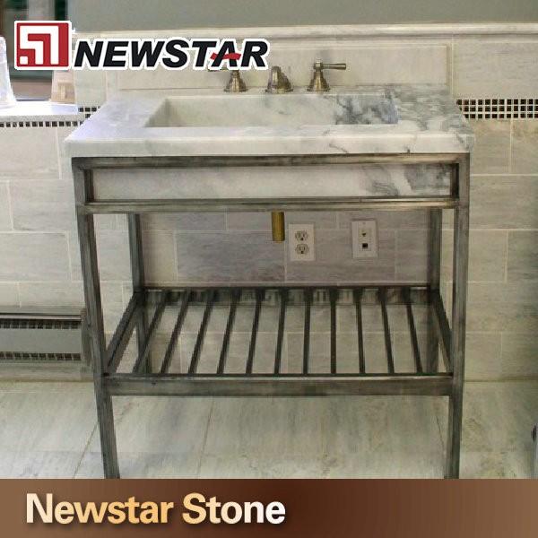 metal sink foter bathroom explore vanity console leg