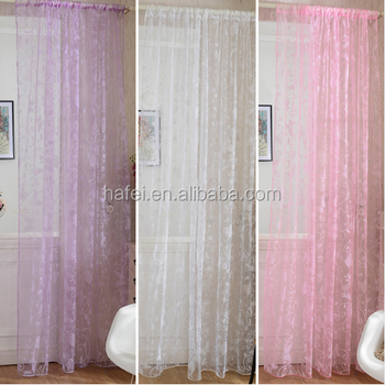 Fancy Linen Sheer Fabric Curtain Living Room Curtains Product On Alibaba