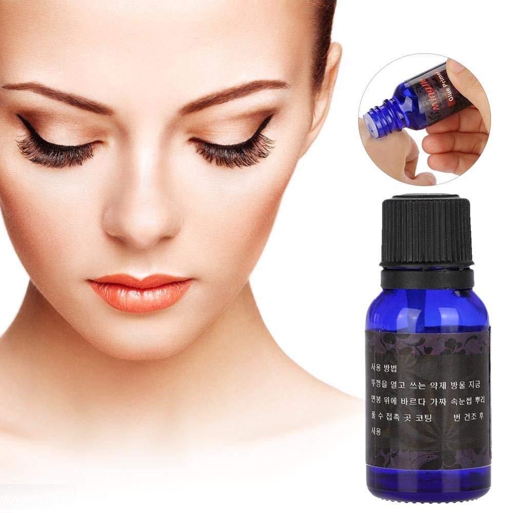 8502fca87db Get Quotations · Eyelash Glue Primer, Eyelash Extension Professional Kit  Rose Scent Reinforced for Fake Eyelashes Extension Graft