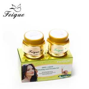 TOP! Feique snail white Beauty Skin Whitening cream with nature snail essence