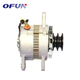 OFUN Super September Chinese 24V 2B82-46 Pulley Excavator Engine Alternator