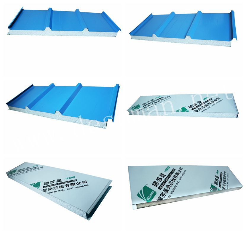 Fire rated installation m2 price used trailer wall eps roof sandwich panel