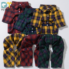 Factory Direct Sales Fashion New style Plaid Shirt Autumn and winter Clothes for Pet and Dog