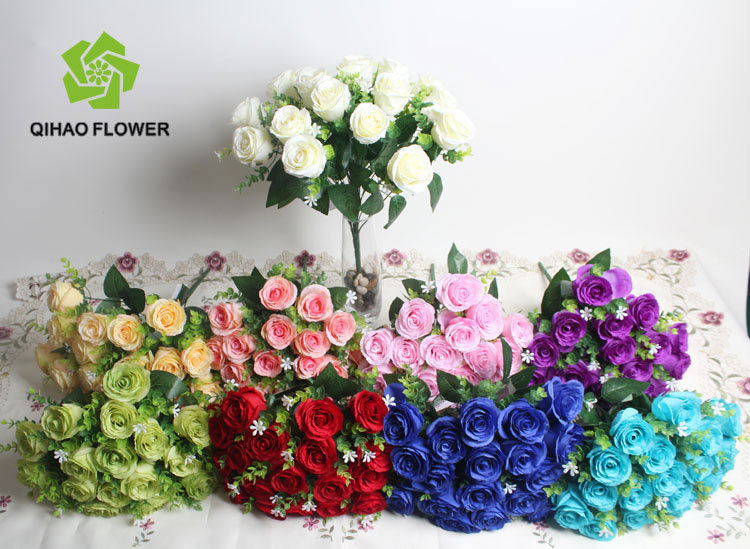 18 Head Big Flowers Bouquet Make For Wedding Gate Decoration - Buy ...