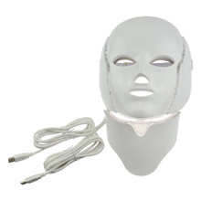 7 colors PDT Red Led light therapy LED facial mask for acne treatment