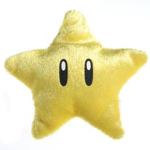 "Super Mario Item Nuigurumi Plush - Vol 1 - Star (3"" Plush)"