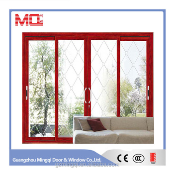Good quality aluminum frame frosted glass garage door