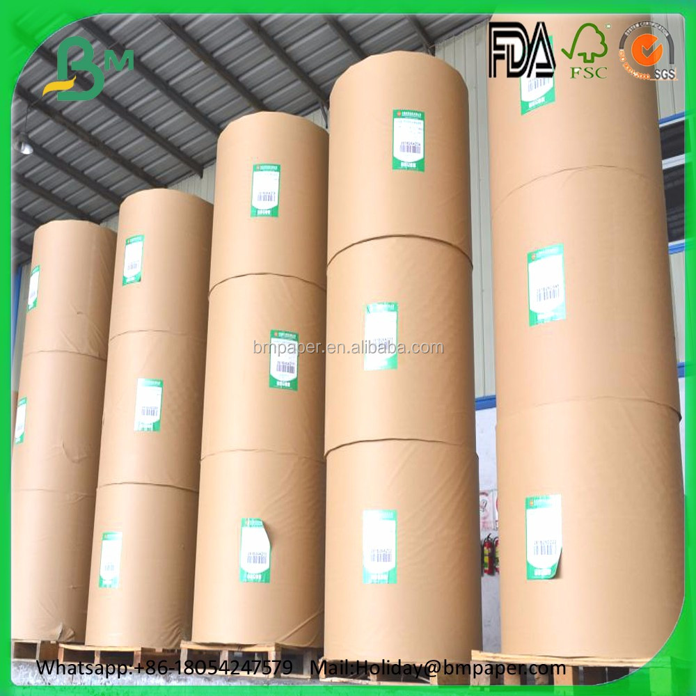 Woodfree uncoated notebook paper rolls