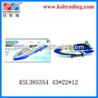 plastic remote control toy boat for children