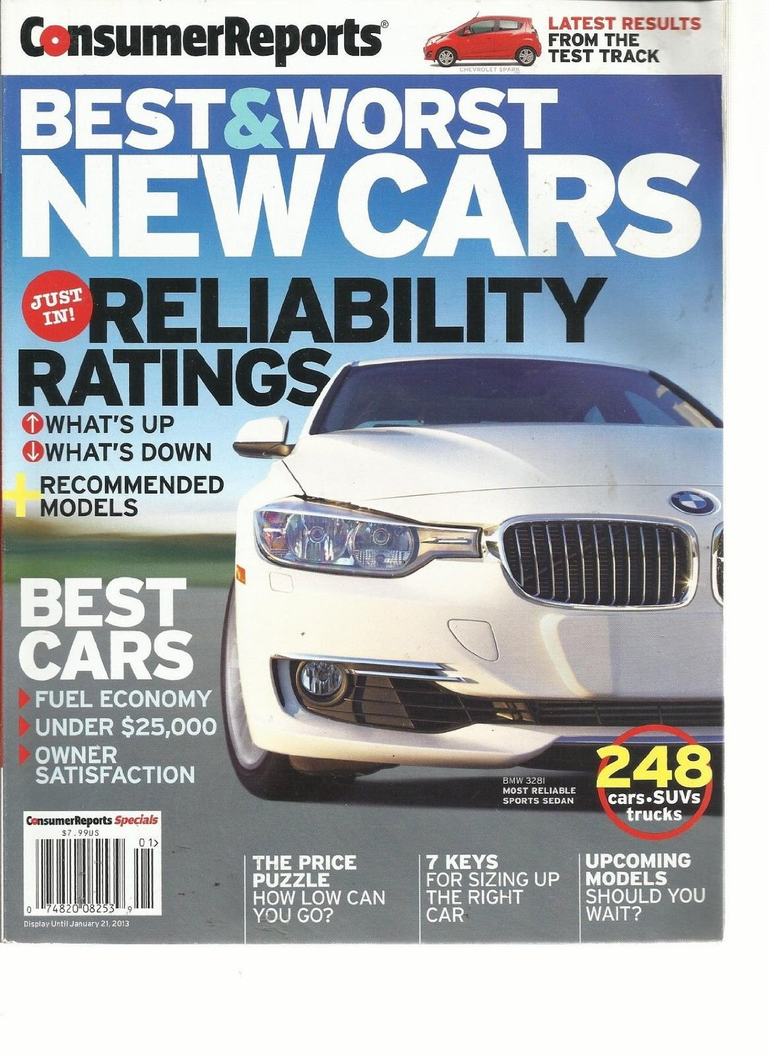 Get Quotations Consumer Reports Best Worst New Cars 2017 Just In Reliability Ratings