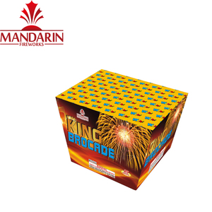 Information Pyrotechnics Combination 25 Shot Fan Cake Chinese Firecrackers Fireworks