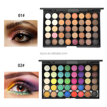 No brand 40 colors matte and pearl eyeshadow OEM