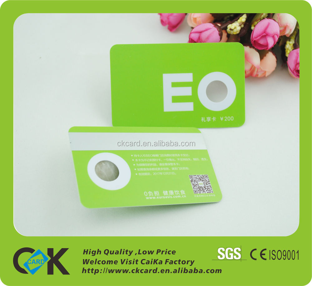 Gym Membership Card/cr80 Standard Size Printed Barcode/magnetic ...