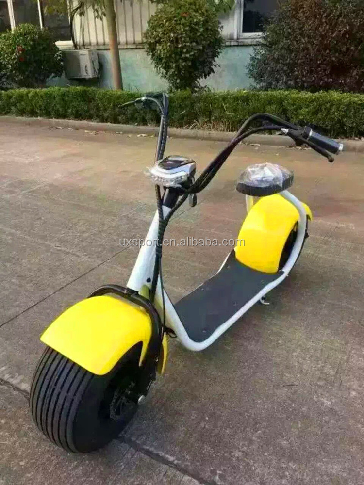 new products 2016 major 1000W 48V Fashionable City Coco 2 Wheel Electric Scooteradult Electric Motorcycle Scoote