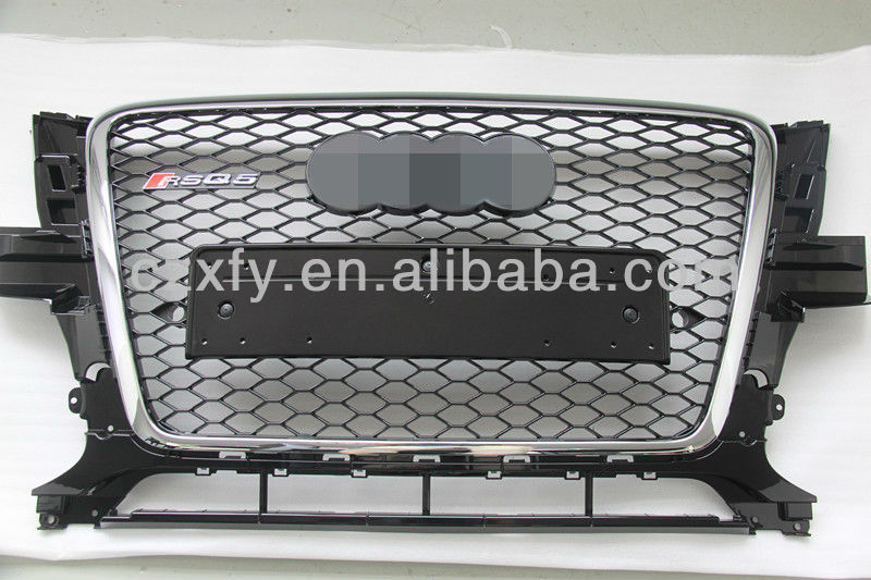 The honeycomb front grille for RSQ5