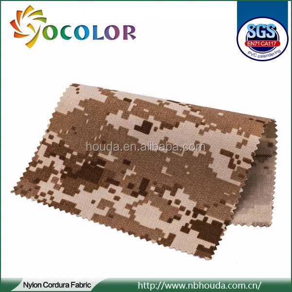 2015 hot seller Textile Patterns for army vest