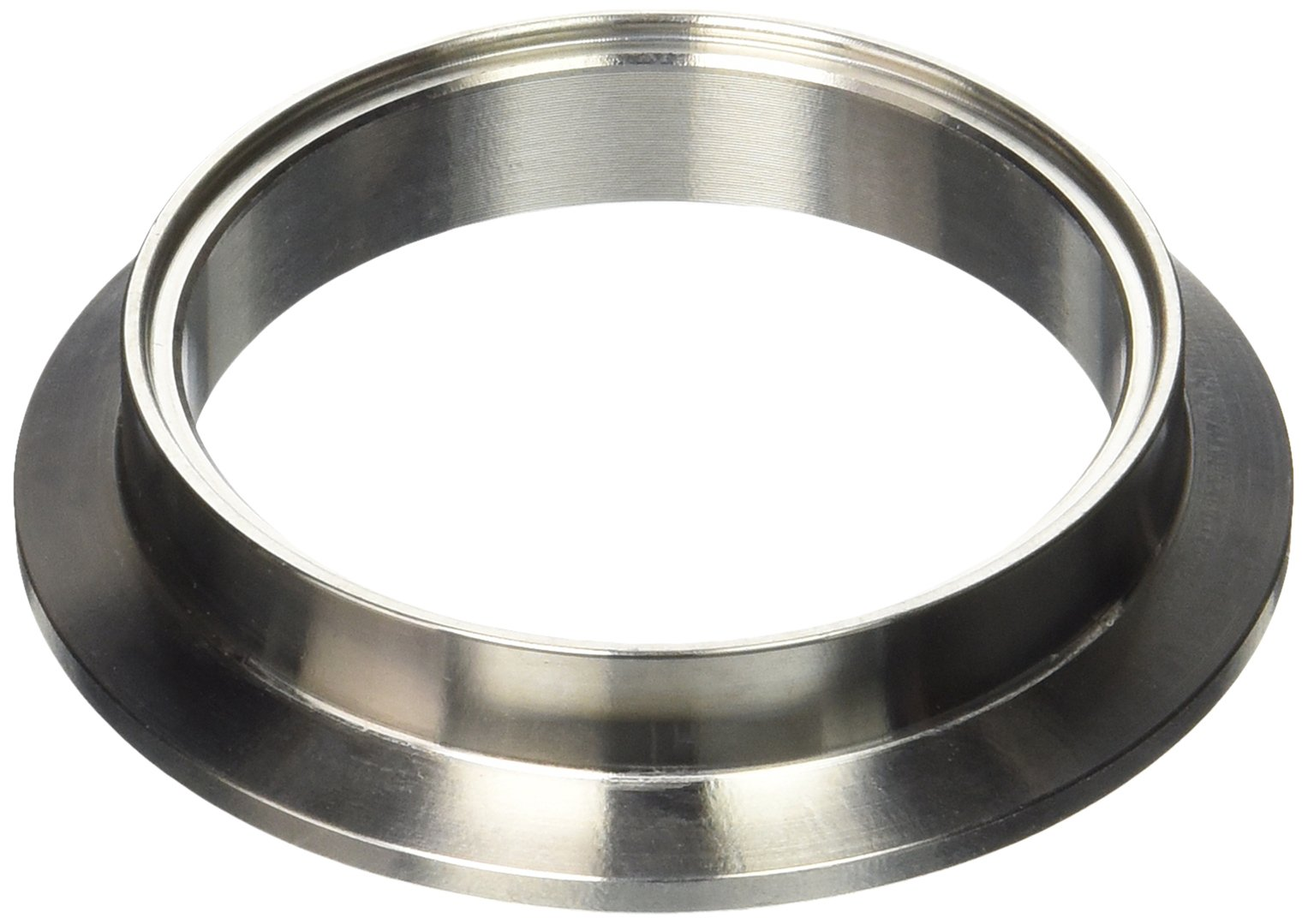 """OBX Stainless Steel V-Band Transition Adapter 2.5/"""" to 3.0/"""" Universal Application"""