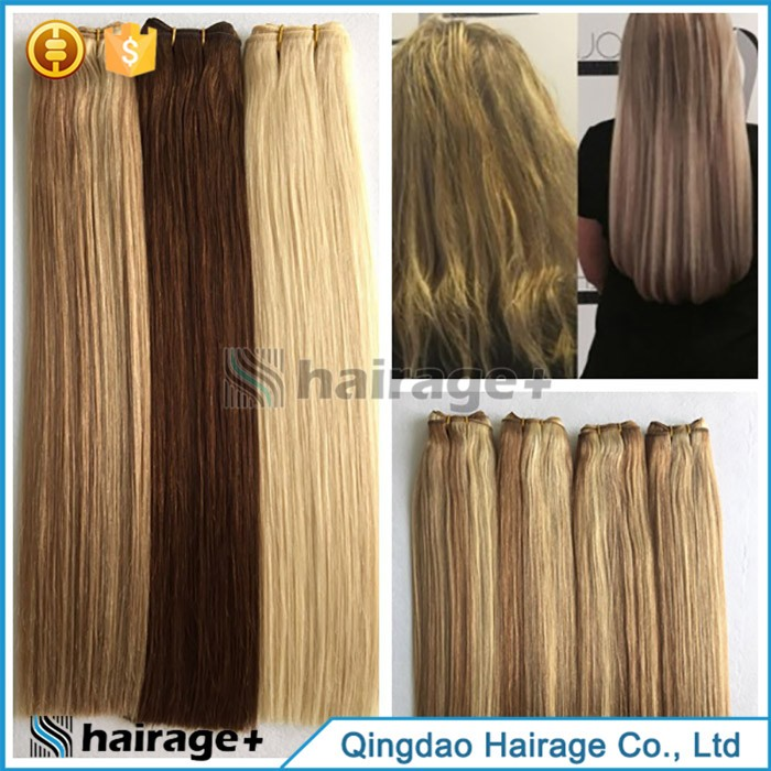 Natural Human Remy Hair 100% Unprocessed Hair Weaving