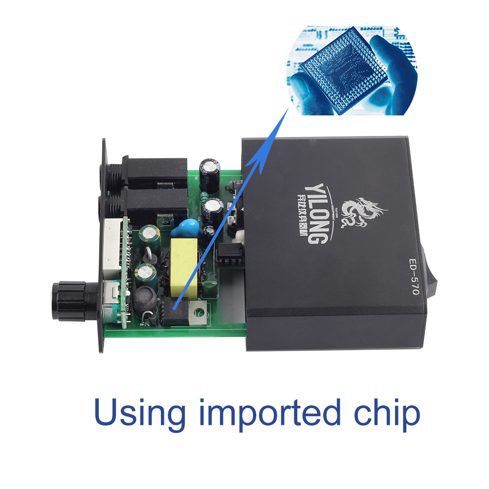 2018 Yilong Power supply professional LCD blue screen Imported Chips
