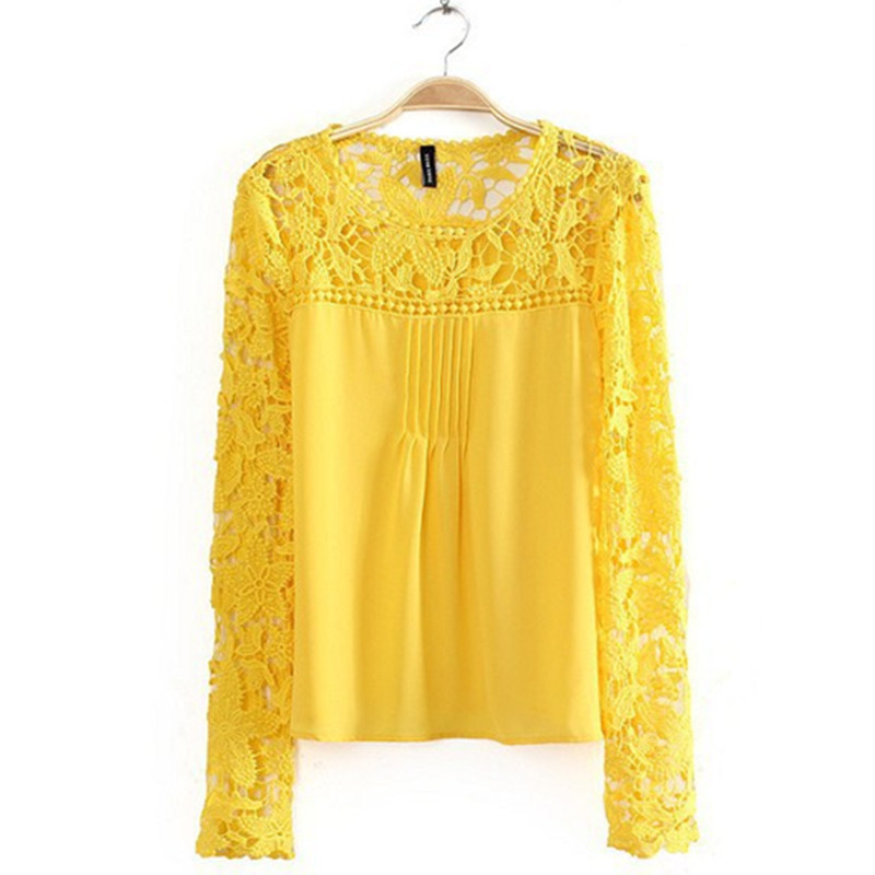 Cheap Sheer Yellow Blouse Find Sheer Yellow Blouse Deals On Line At