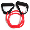 Fitness and Body Building Resistance Band Stretch Fitness Tube Cable Yoga Exercise Bands