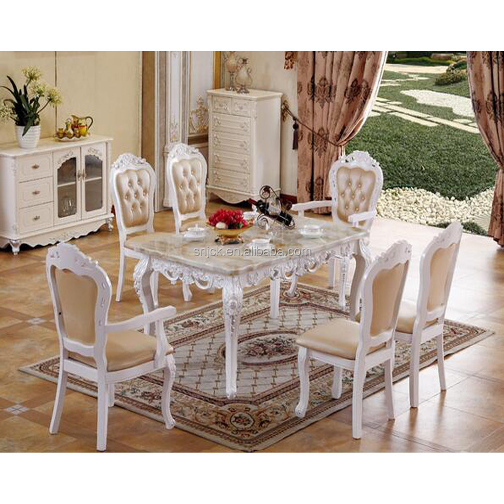 Alibaba Supplier Dining Room Furniture Solid Wood Table And Chairs