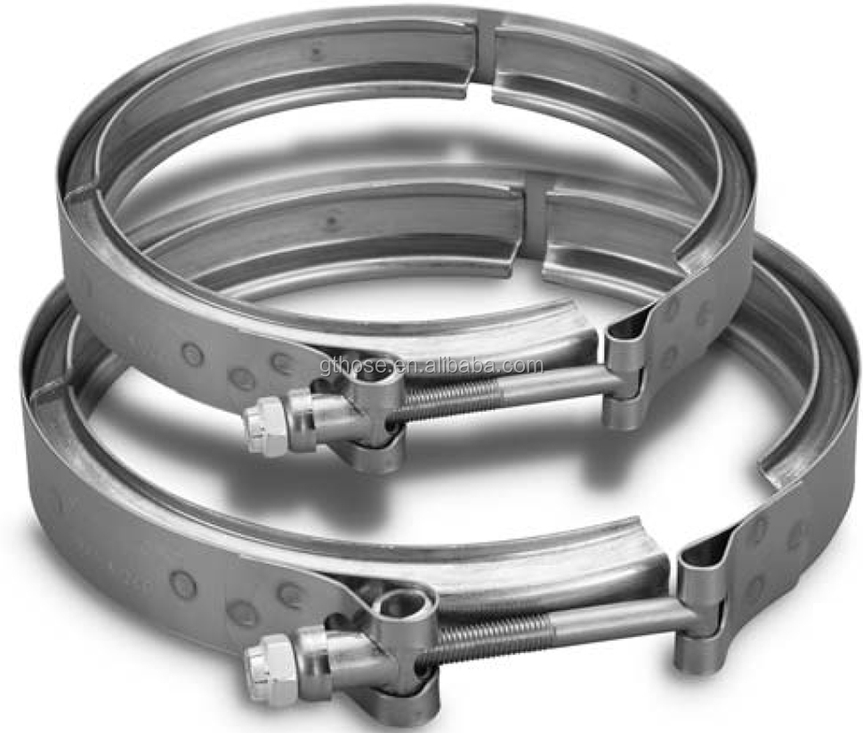 C high quality stainless steel hose clamp custom v band