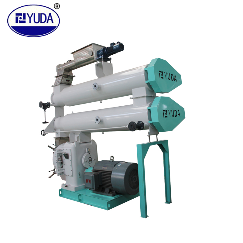 YUDA can be customized CE certified animal feed floating fish feed stainless steel spray painting pellet machine