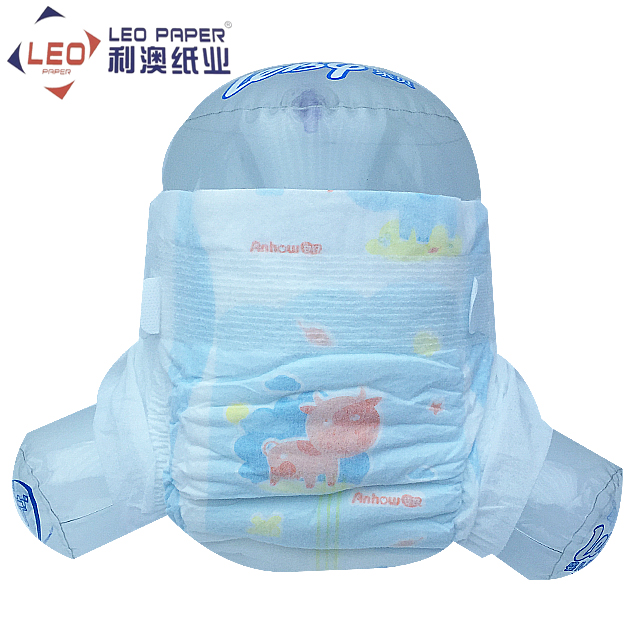 B grade disposable cotton baby diapers China