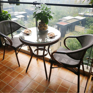 Outdoor Rattan Furniture Rattan Dining Set Patio FurnitureTables And Chairs Gargen Wicker Furniture Outdoor Furniture