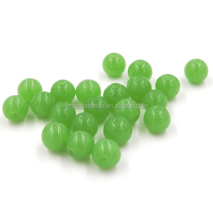 Jade Stone Beads for High-end Jewelry