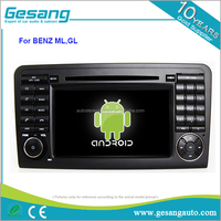 Android 6.0 car stereo dvd player for Mercedes-Benz ML class with GPS Wifi 4G Bluetooth
