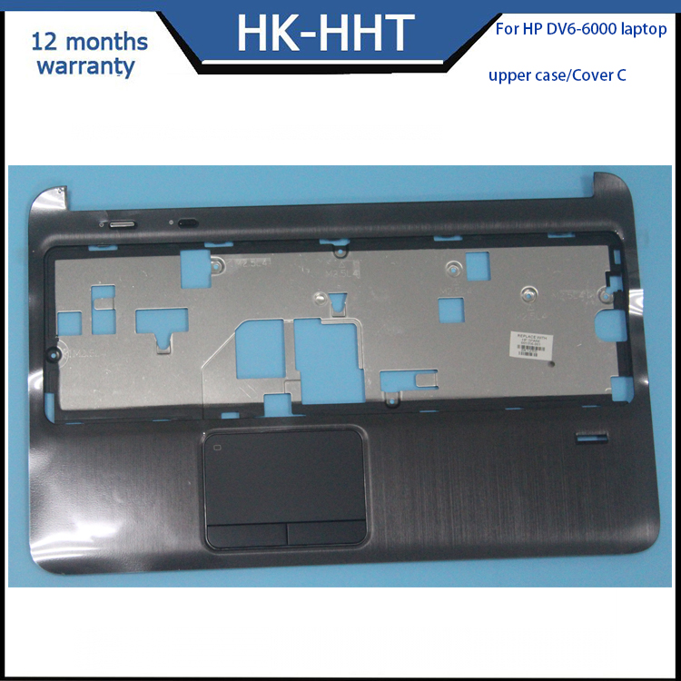 Laptop Upper Cover Palmrest touchpad for HP Pavilion DV6-6000 Cover C
