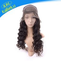 KBL-Perfect Lady silver grey human hair lace wigs human brazilian hair, cancer 60 inch wigs, dyeable virgin full lace wigs