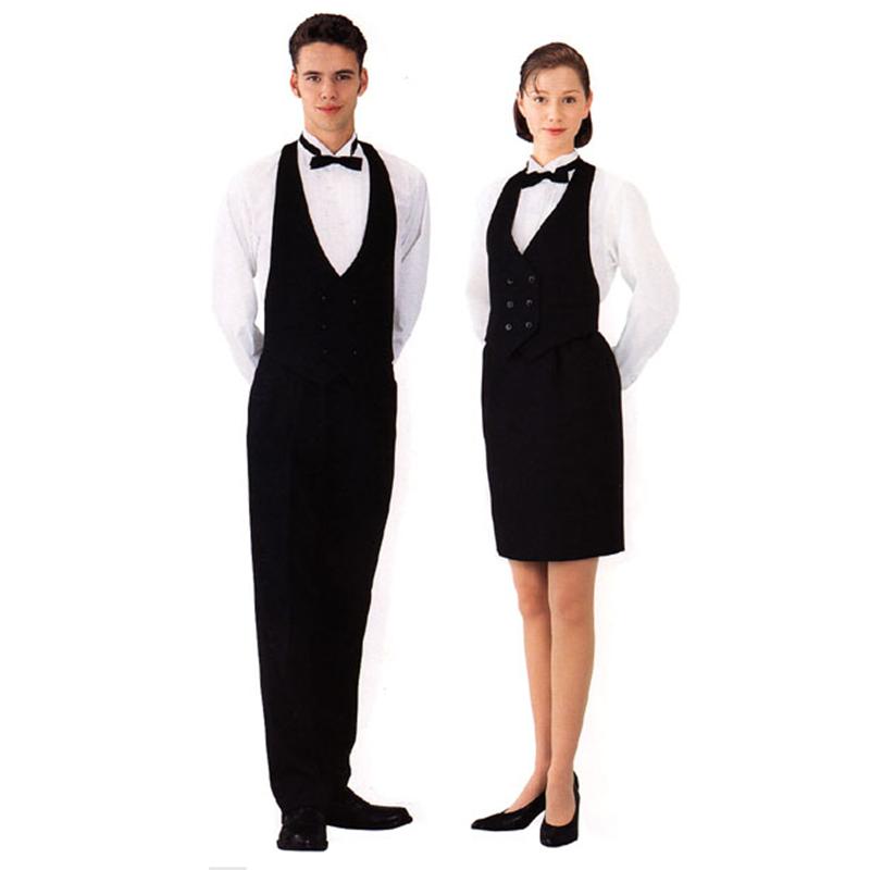 Hotel receptionist uniform