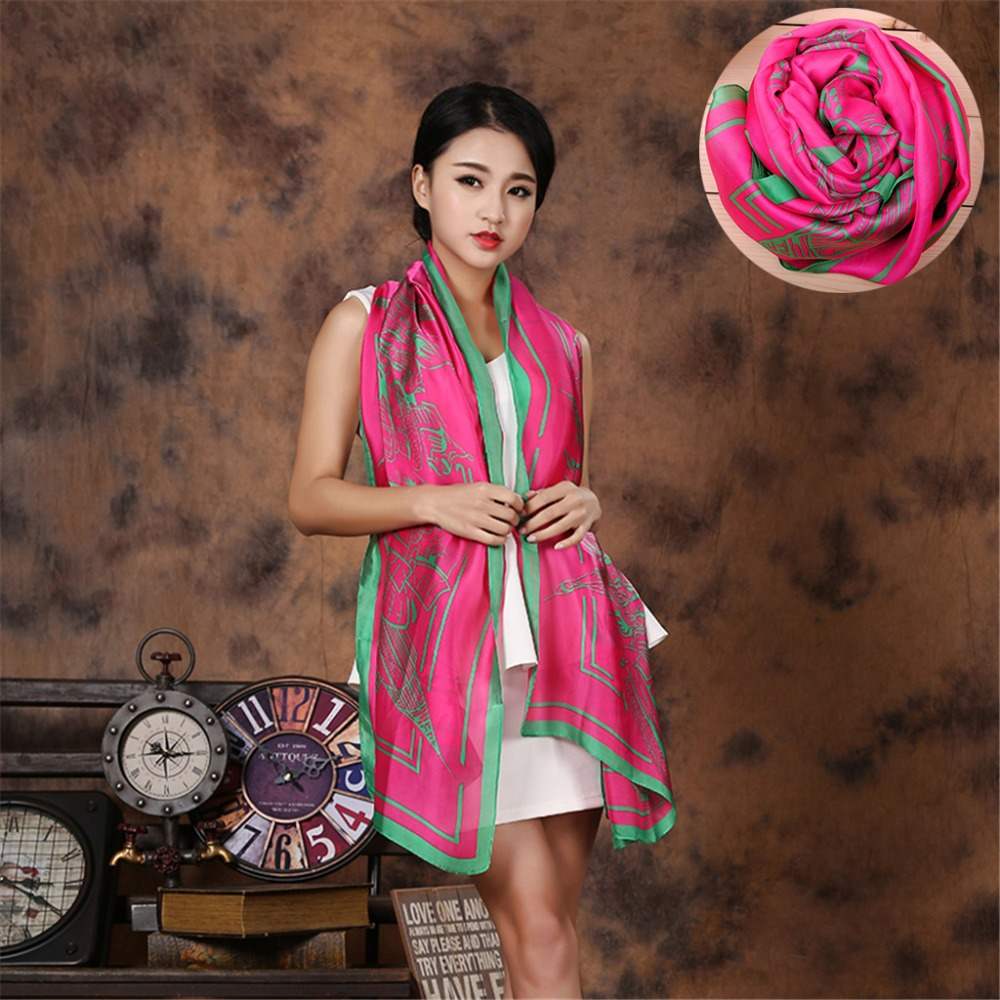 Wholesale price 100% Silk Scarf for Women fashion style