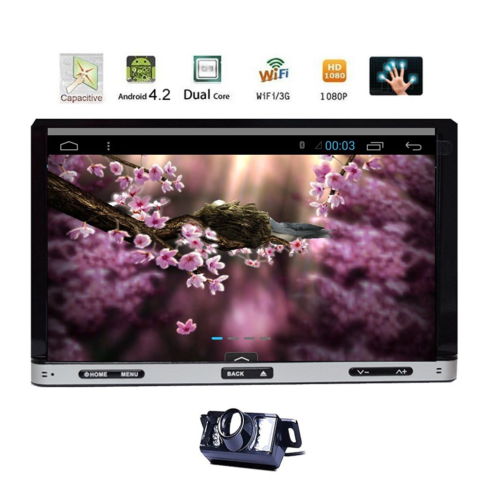 Pupug Hot Sale Android 4.2 2 Din 7 '' Car DVD Player GPS Navigation HD Capaci...