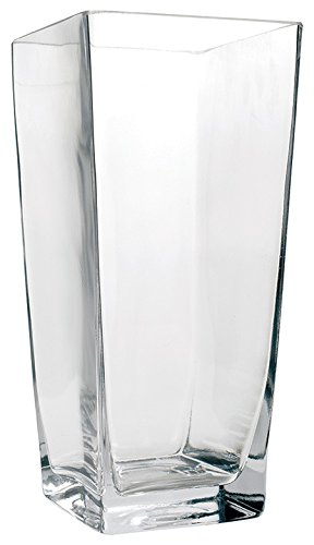 Buy 5quot Square Glass Vase 5 Inch Clear Cube Centerpiece