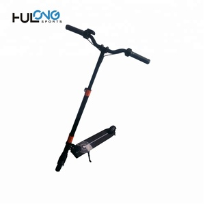 Hulong OEM lithium battery power electric scooter, 2 wheel electric motorcycle scooter folding electric scooter for sale