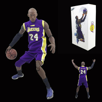 Hot Sale Famous Basketball Star Kobe Bean Bryant Cosplay Model Toys Statue Anime PVC Figure
