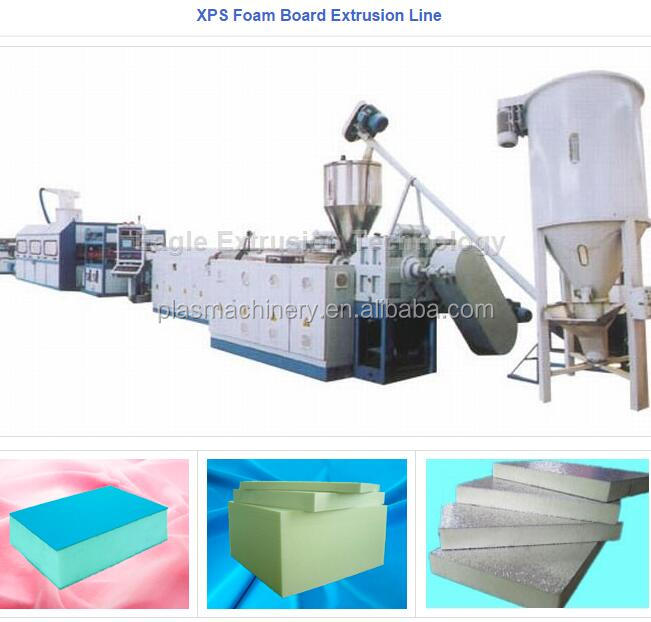 the best supplier XPS foam board machine