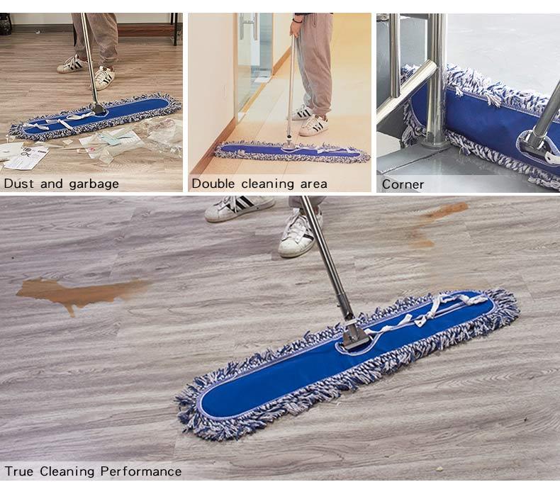 Handfrei Magic Flat Mop Squeeze Reinigung Flat Mop